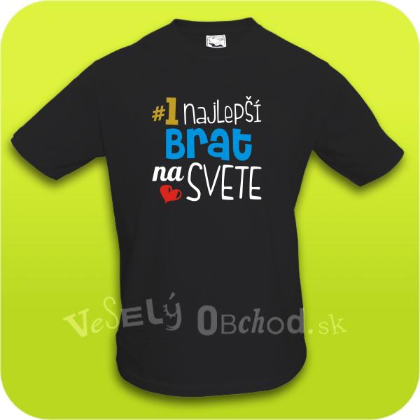 Humorné tričko Najlepší brat na svete e4c04b5d402