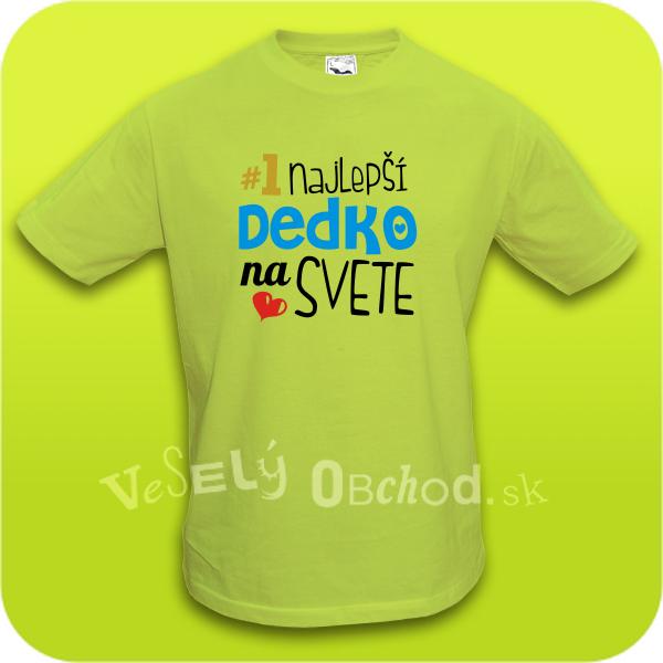 Humorná tričko Najlepší dedko na svete a90484d4935